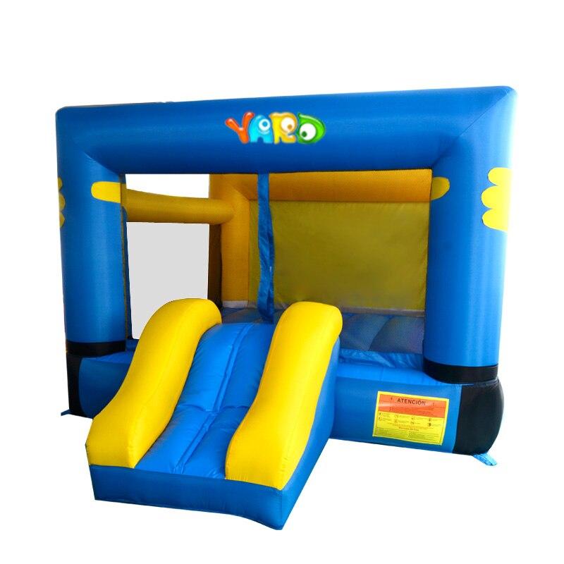 Cour offre spéciale rebond maison Trampoline gonflable pour enfants partie château gonflable videur avec toboggan pour enfants
