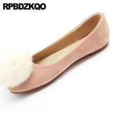 fecb97b1a9 10 rosa Das Senhoras Designer de Sapatos Dedo Do Pé Redondo De Pele Barato  China Bonito