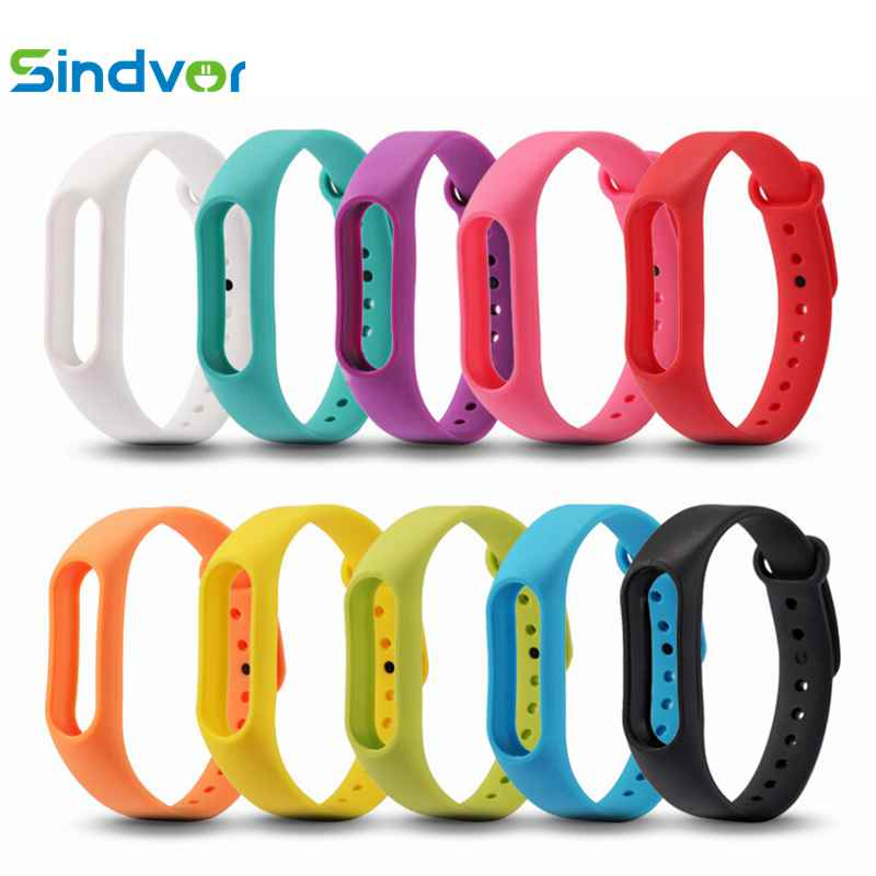 Hot Sale Mi band 2 Accessories Pulseira Miband 2 Strap Replacement Silicone Wriststrap for Xiaomi Mi2 Smart Bracelet Wrist Band(China)