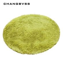 solid soft bathroom carpet mat rug round 1 pcs antislip bath mats rug