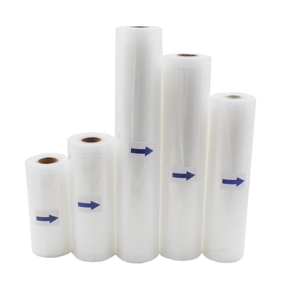Free Cutting Vacuum Heat Sealer Food Saver Bags Saran Wrap Food Storage Bags
