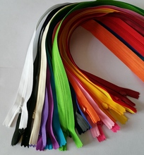 ( can choose the colors ) 17Colors Selection 15pcs/lot Invisible zipper 60cm cushion for leaning on of dress skirt