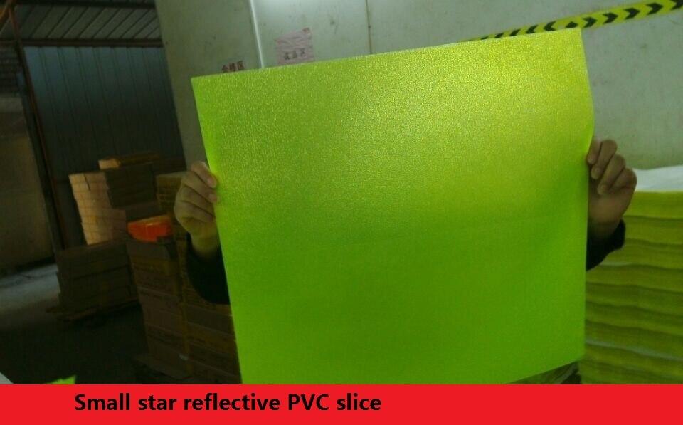 Reflective Warning PVC material reflective prismatic slice reflective PVC slice 46cm*48cm*20C