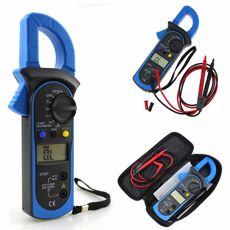 ANENG Clamp Meter Amper AC / DC Voltage Current Clamp Multimeter Pinza Amperimetrica Digital Multimeter Electronic Tester Meter