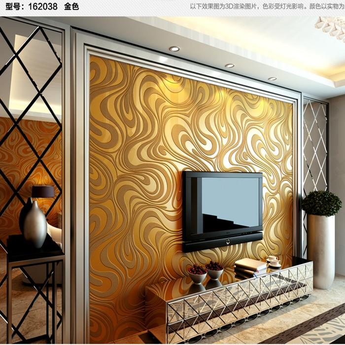 Für Wohnzimmer Schlafzimmer 3D Geometrische Tapetenbahn Streuen