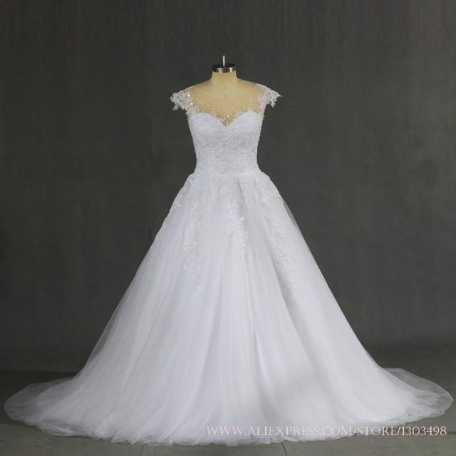 Plus Size Hochzeitskleid 2017 Sexy Ballkleid Prinzessin Braut Kleid ...