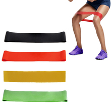 Elastic Band Tension Resistance Band Exercise Workout Rubber Loop Crossfit Strength Training Expander Fitness Yoga Equipment(China)