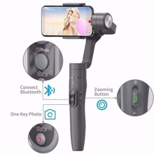 Feiyutech Feiyu Vimble 2 Phone Gimbal Handheld 3 Axis Stabilizer  Extendable Pole For iPhone X 8 7 Samsung S8+S9 Plus Smartphone