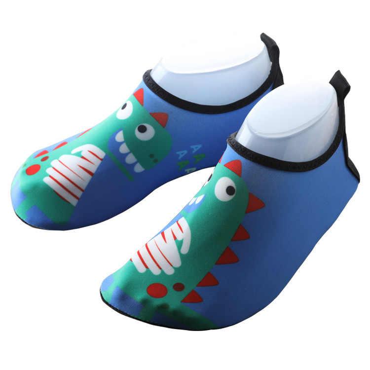 ילדי נעלי חוף ילדי קיץ מים נעלי לשחייה בני פעוט כפכפים דינוזאור תינוק סנדלי ילדה 22- 35