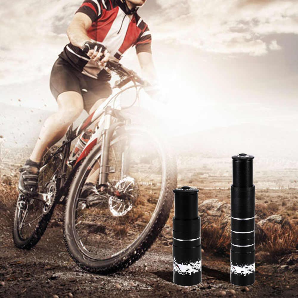 อลูมิเนียมจักรยาน Handlebar ส้อมก้าน Riser Extender EXTENSION ขี่จักรยาน Stem Head Up Raiser ADAPTER MTB Mountain ขี่จักรยาน Part