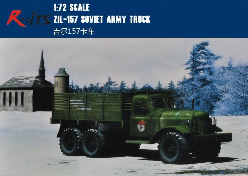 RealTS Trumpeter 01101 1/72 Zil-157 Soviet Army Truck