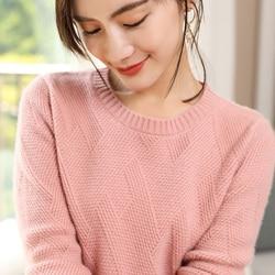 Женские свитера, 100% чистый кашемир, вязанные толстые теплые пуловеры, новинка зимы, 4 цвета, толстые Джемперы, женская одежда, женские топы