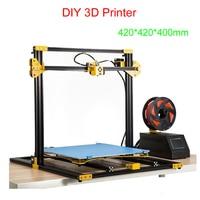 DIY 3D drucker LY S7 high präzision 3D druck maschine unterstützung weichen kleber  holz  PLA  ABS  carbon faser und andere materialien-in Holzfräsemaschinen aus Werkzeug bei