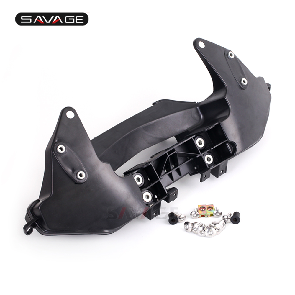 Headlight Fairing Mirror Cowling Stay Bracket For HONDA CBR600RR 2007-2017 CBR 600RR 16 14 12 10 08 Motorcycle Front Upper Cowl