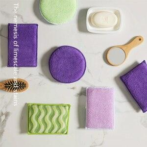 Image 5 - 3PCS ad Alta densità antibatterico spugna pulita spugna da cucina bagno pulito spugna magica wipe paglietta spazzola per la pulizia del Forno
