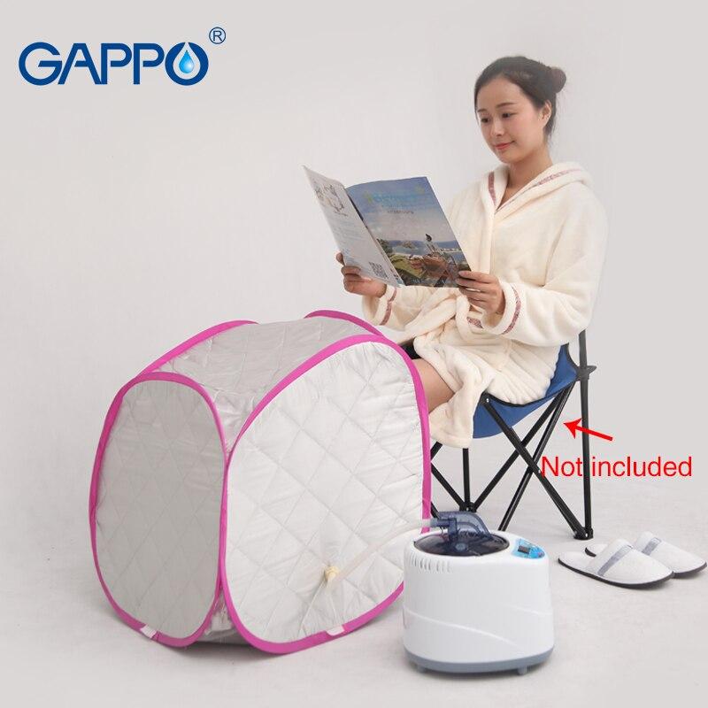 GAPPO Steam Sauna Beneficial skin sauna suits for weight loss steam generator Home Sauna Rooms bath indoor SPA with sauna