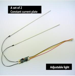 Image 2 - Gratis Levering. De Artikel 15 Tot 24 Inch Universele Lcd Led Verlichting Veranderen Lcd Led Upgrade Kit Verstelbare Helderheid 540 Mm
