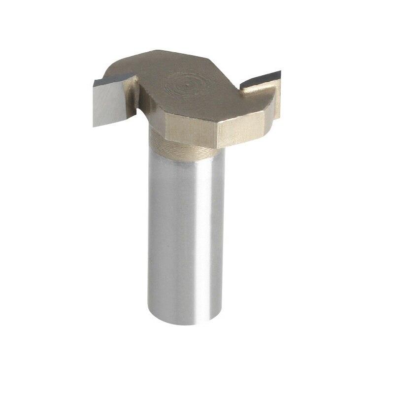 цена на 1pc Proffesional Grade Tungsten Carbide Woodworking T Shape Slot Engraving Flush Trim CNC Router Bit Mill Cutter  TD-Px1-4X1-4