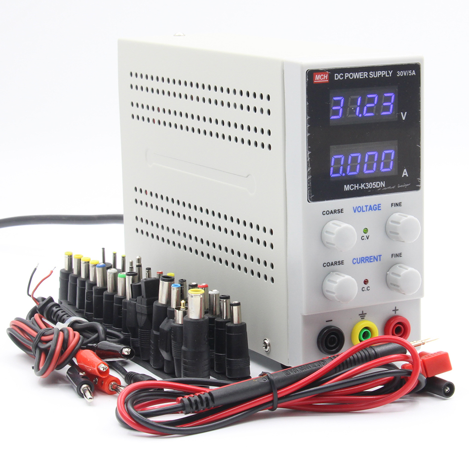 MCH-305DN 4-digit display DC power supply 30V 5A digital high-precision ammeter 305D цена