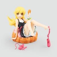 Anime Figure 12 Cm Nisemonogatar Oshino Shinobu 1/8 Scale Painted Cute Donut Shape Ver. Pvc Action Figure Collectible Model Toys