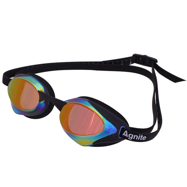 Agnite Arena Swimming Goggles An-Fog UV Swim Eyewea Men Women Coated Waterproof Swimming Glasses