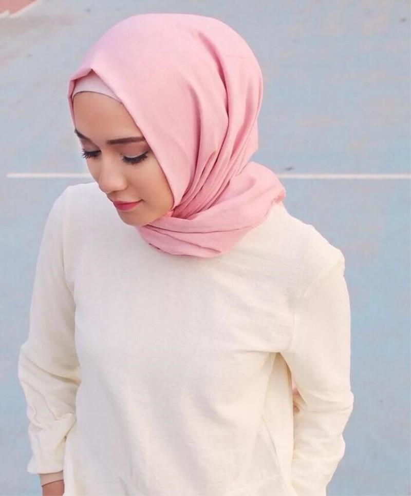 Flower Design Tassel Soft Muslim Full Cover Inner Women/'s Hijab bonnet Cap FX