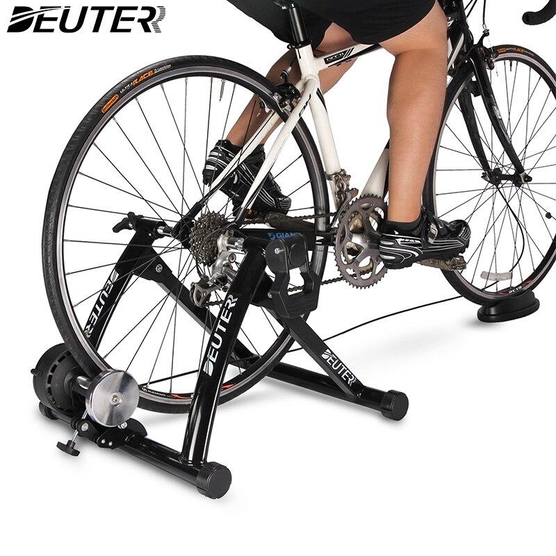 Exercice intérieure Vélo Formateur Formation À Domicile 6 Vitesse Magnétique Résistance Vélo Formateur Route VTT Vélo Formateurs Vélo Rouleau