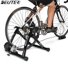 Комнатный велосипед для тренировок Тренер Главная Обучение 6 Скорость Магнитная сопротивление Велосипедный спорт дорога MTB велосипедные тренажеры Велоспорт ролик