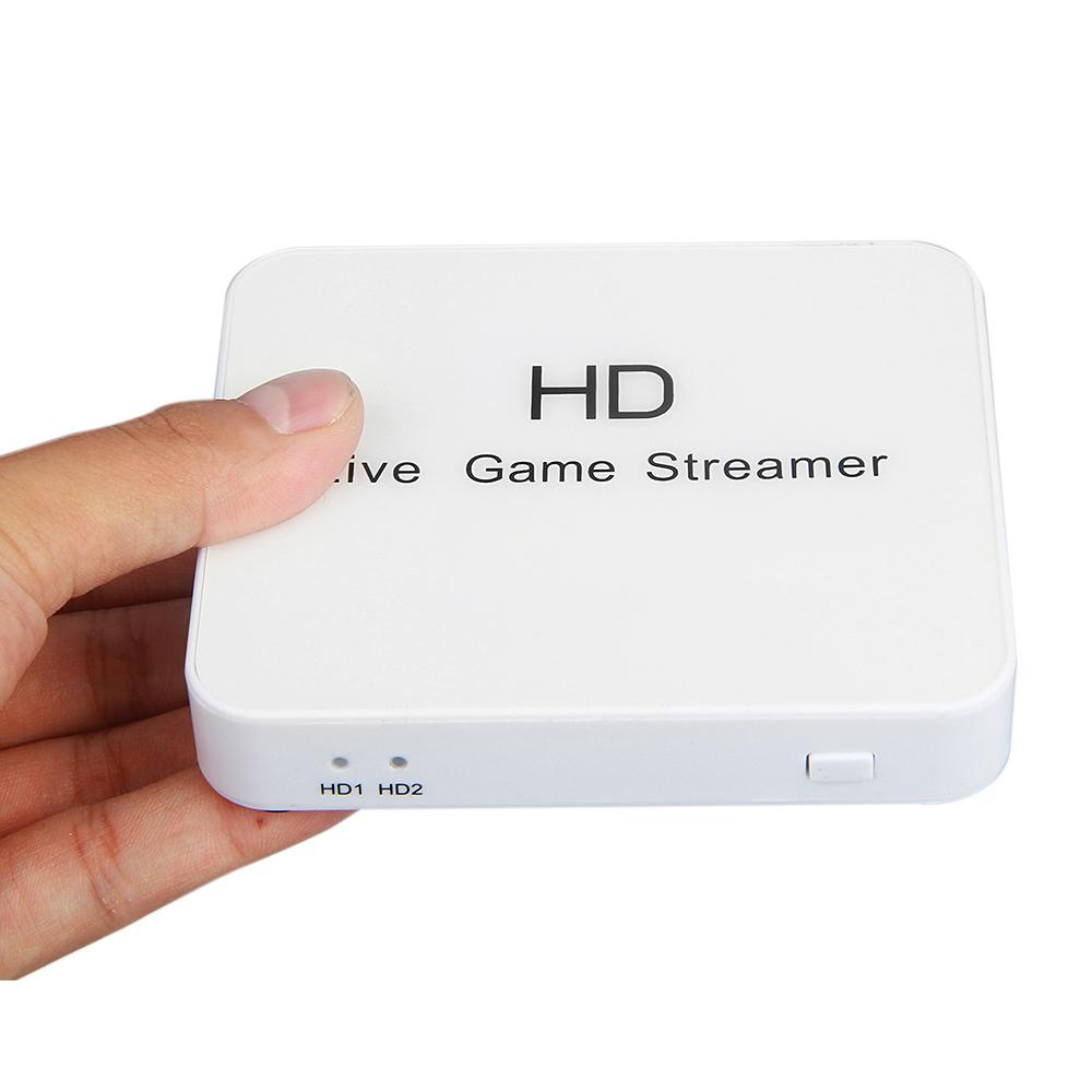 Prix pour HD Vidéo en direct Jeu boîte de Flux 1080 P HDMI Composante Composite Enregistreur USB port d'espace DISQUE Pour Blue-ray DVD Lecteur PS3 Set-top Box