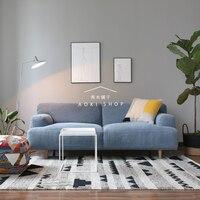 Nordic геометрический узор ручной шерсти ковер для гостиной диван чайный столик одеяло ковер