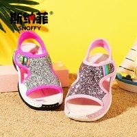 a58e2090 Snoffy 2017 niños niñas gladiador sandalia coreano verano playa zapatos  brillo grandes princesa planos TX294. Snoffy 2017 Children Girls Gladiator  Sandal ...