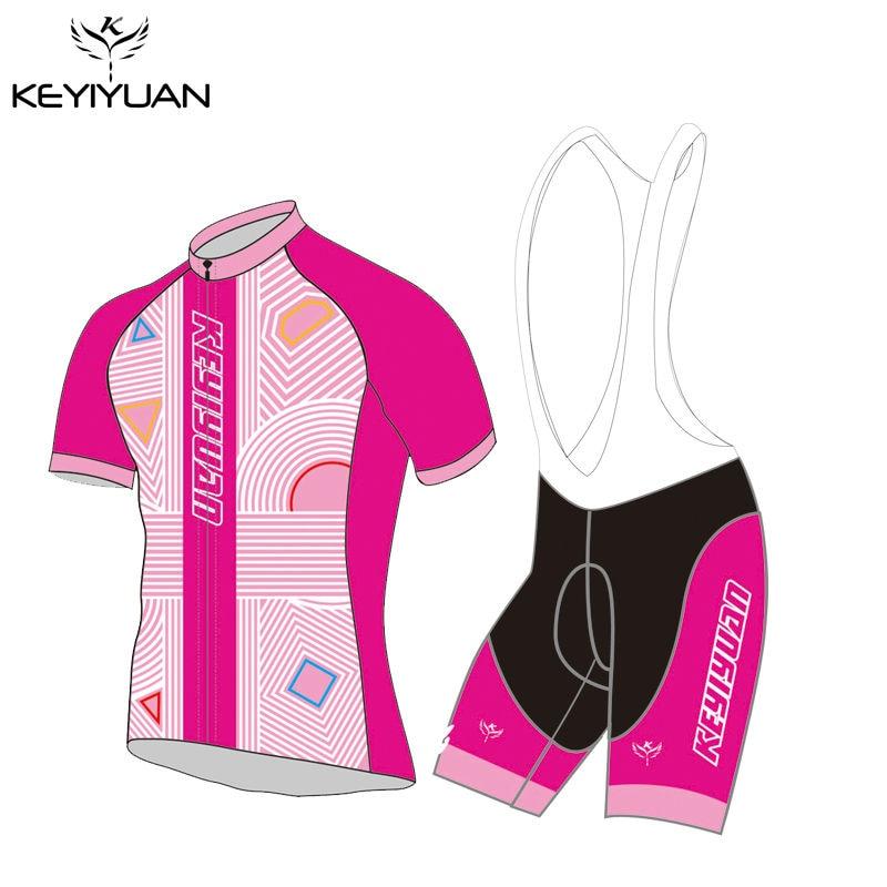 2018 KEYIYUAN brand new projeto Dos Amantes das mulheres dos homens casal  magia engraçado estilo mtb bicicleta conjunto camisa de ciclismo verão  curto ... 4699f4db1d893