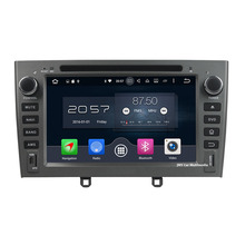 """4GB RAM  Android 6.0.1 Octa Core 7"""" 32GB ROM Car DVD Radio Multimedia Player GPS Navigation for Peugeot 408 2007 2008 2009 2010"""