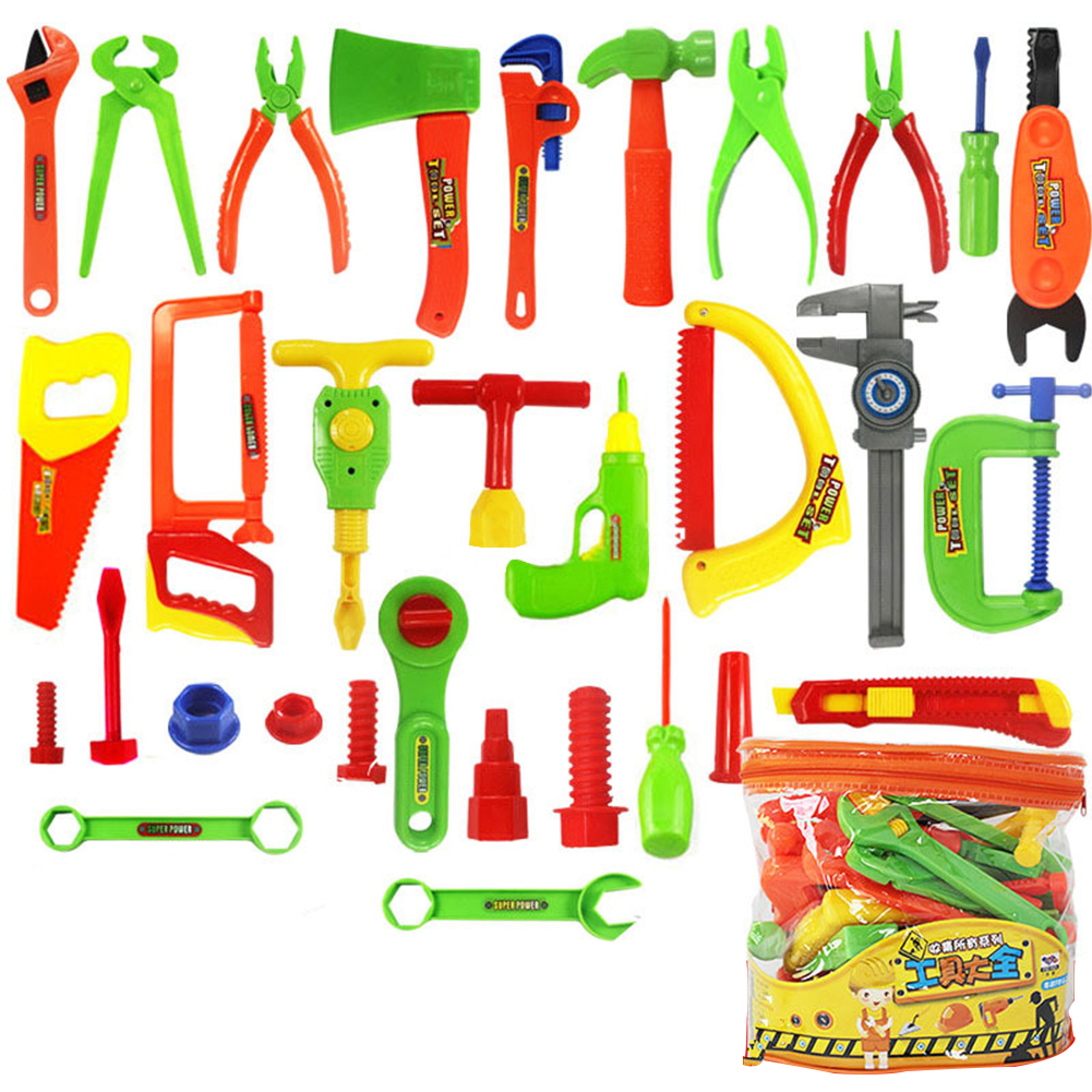 Pretend Play Toys & Hobbies Temperate 32pcs/set Colorful Educational Children Kids Garden Repair Tools Toy Pretend Play Toys Baby Early Learning Toys Random Color