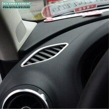 Автомобильные аксессуары-укладка изменение панель управления air-кондиционер вентиляции Блестки НОВЫЙ пригодный для Audi A3 2013-2016 хэтчбек седан