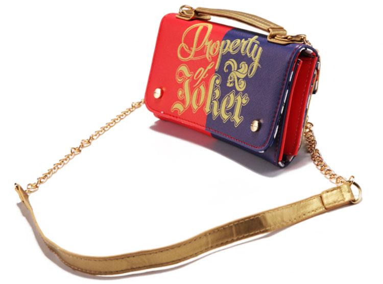 17 Lady Style Wonder Women Suicide Squad Joker Anime Women Mini Shoulder Bag Leather Prints Girl Messenger Multifunction Bags 4
