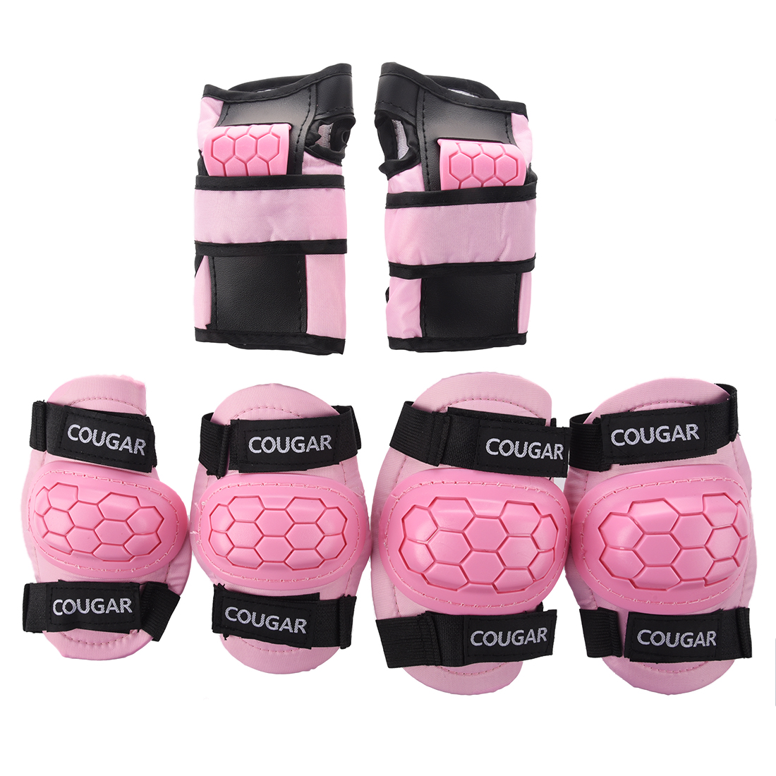 MUMIAN Boys Girls Childs Children Skate Cycle Knee Set Elbow Wrist Safety Pads Kids