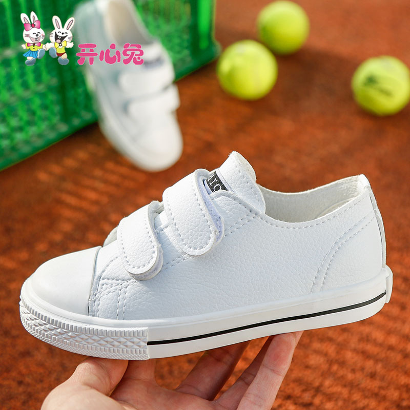 Kids shoes girls Artificial leather children shoes boys new spring 2017 children casual shoes leather kids fashion white shoes