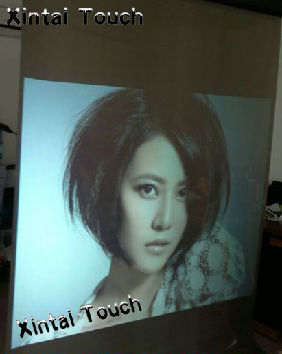 Free Shipping! LOW-COST , 1 square meter (60 inch) white color rear projection screen film/foil simple low cost electronics projects
