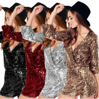 bodysuit fashion sequin sequin jumpsuits for women rompers womens overalls body femme combinaison body mujer shorts plus size