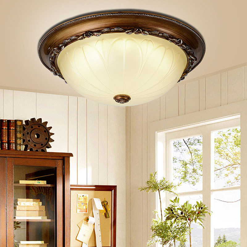 LED ceiling lamp for Bedroom Children Living Room Lights Simple Kitchen Restaurant Hallway Lighting Countryside style