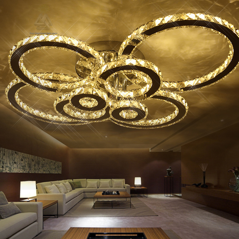 Led Ceiling Light Modern Panel Lamp Lighting Fixture Living Room Bedroom Kitchen Surface Mount Flush Remote Control Strong Resistance To Heat And Hard Wearing Back To Search Resultslights & Lighting Ceiling Lights & Fans