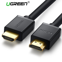 Ugreen HDMI Cable 4K*2K HDMI 2.0 Male to Male High Speed HDMI Adapter 3D for Apple TV PS3/4 Projector HDMI Cable 5M 1M 2M 3M(China)