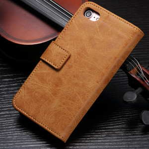 Image 4 - Luxury leather Flip Phone case for iphone 6 7 8 s plus iphone x magnetic wallet cases full cover dirt resistant with card Cash