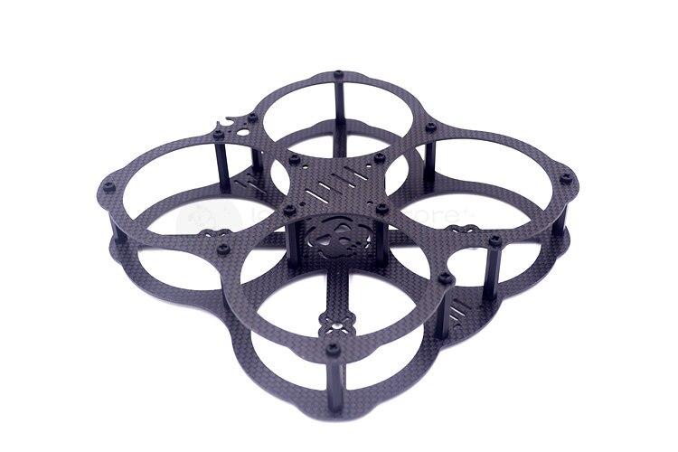 DIY FPV mini racing quadcopter drone QAV-X3 UFO 130 pure carbon fiber frame unassembled mini qav r 220 pure carbon fiber board 220mm 220 quadcopter frame kit 4mm arm for qav r 220 racing drone diy rc through fpv