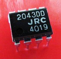 Электронные компоненты и материалы Njm2043, 2043dd,