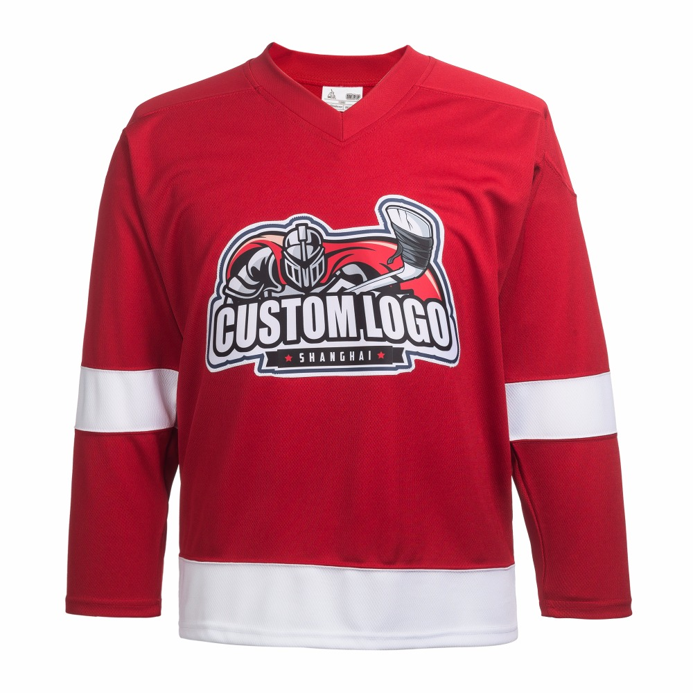 DHL free shipping synthetic embroidery ice hockey jerseys wholesale custom jerseys P007 customized any ice hockey jerseys any logo name number color size sewn on xxs 6xl embroidery wholesale from china free shipping
