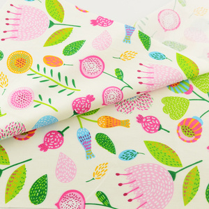 Cotton Fabric Green Floral Quilting Patchwork Fabrics Bedding Clothing Doll Scrapbooking Home Textile Decoration Sewing Cloth CM(China)