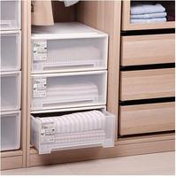 plastic drawer storage box underwear storage cabinet finishing box 45 square good quality plastic storage box with drawer