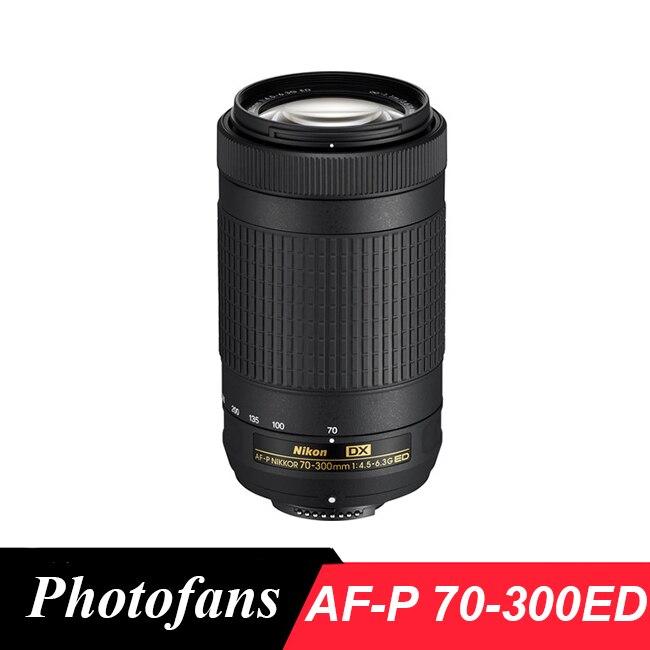 Nikon 70-300 AF-P DX 70-300mm f/4.5-6.3G Ed lente para D7200, d7100, D5600, D5500, D5300, D5200, D3400, D3300, D500
